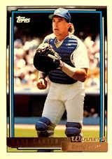 1992 Topps Gold Winners #45 Gary Carter