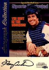 1999 Sports Illustrated Greats of the Game Autographs #16 Gary Carter