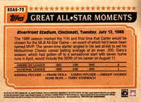 2018 Topps S2 1983 Topps Baseball All Stars #83AS73 Gary Carter