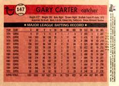 2004 Topps All-Time Fan Favorites Refractors #147 Gary Carter/299