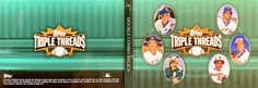 2007 Topps Triple Threads Relics Combos Double Emerald #46 Ryne Sandberg/Wade Boggs/Dennis Eckersley/Paul Molitor/Gary Carter/Eddie Murray/18