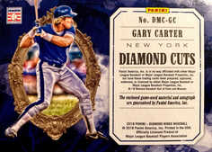 2018 Diamond Kings Diamond Material Cuts Signatures Masterpiece #3 Gary Carter 1/1