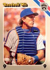 1990 Baseball Wit #32 Gary Carter/10000