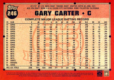 2016 Topps Archives Gold 5X7 #246 Gary Carter/10