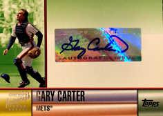 2006 Topps Autographs Green #GC Gary Carter C/250