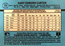 1988 Leaf/Donruss #156 Gary Carter