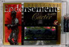 2005 Topps Pristine Legends Personal Endorsements Gold #GC Gary Carter/25