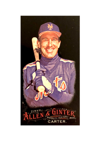 2016 Topps Allen & Ginter X Mini #224 Gary Carter