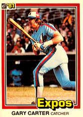 1981 Donruss #90 Gary Carter