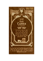 2012 Topps Gypsy Queen Mini Sepia #251 Gary Carter/99