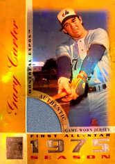 2003 Topps Tribute Perennial All-Star Relics Gold #GC Gary Carter Jsy/25