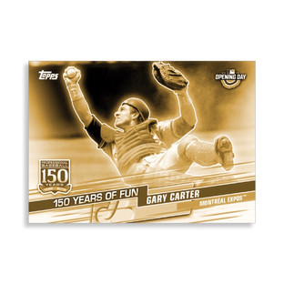 2019 Topps Opening Day 150 Years of Fun Gold