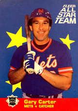 1986 Fleer All-Stars #4 Gary Carter