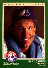 1992 Expos Donruss Durivage #5 Gary Carter
