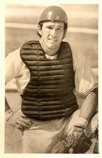1970s Expos Postcards Gary Carter (Catching Gear)