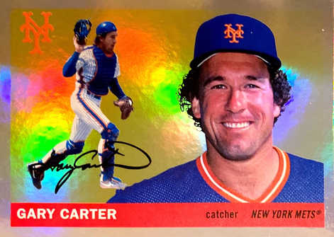 2020 Topps Archives Holo #46 Gary Carter