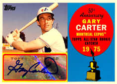 2008 Topps 50th Anniversary All Rookie Team Autographs #GC Gary Carter/