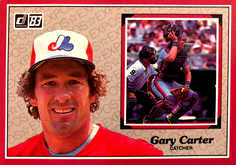 1983 Donruss Action All-Stars #58 Gary Carter