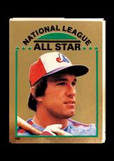1981 Topps Stickers #259 Gary Carter FOIL