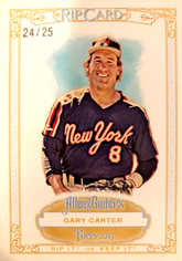 2013 Topps Allen and Ginter Rip Cards #RC58 Gary Carter/25