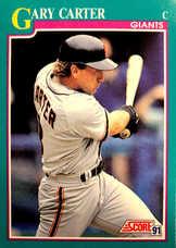 1991 Score #215 Gary Carter