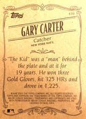 2002 Topps 206 #439 Gary Carter RET SP