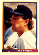 1991 Bowman #598 Gary Carter
