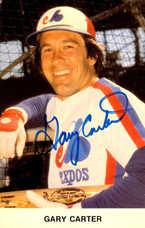 1980 Expos Postcards #5 Gary Carter