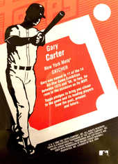 2004 Topps Clubhouse Relics #GC Gary Carter Jacket/221
