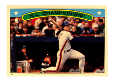 1987 Topps Stickers #14 Gary Carter LCS