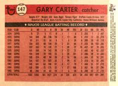 2004 Topps All-Time Fan Favorites #147 Gary Carter
