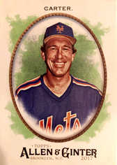 2017 Topps Allen and Ginter #324 Gary Carter SP