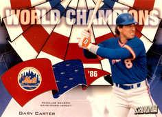2002 Topps Stadium Club World Champion Relics #WCGC2 Gary Carter Jsy