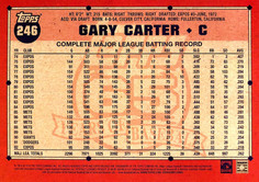 2016 Topps Archives 5X7 #246 Gary Carter/49