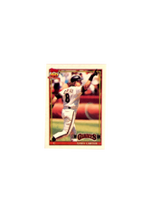 1991 Topps Micro #310 Gary Carter