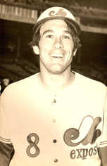 1970s Expos Postcards Gary Carter (Portrait)