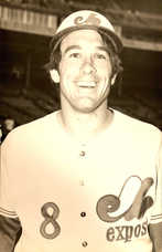 1970s Expos Postcards Gary Carter (Portrait)