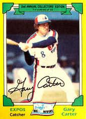 1982 Drake's #7 Gary Carter