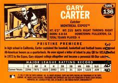 2005 Topps Pristine Legends #136 Gary Carter/499