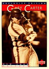 1995 Upper Deck Sonic Heroes of Baseball #8 Gary Carter