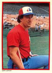 1984 Topps Glossy Send-Ins #9 Gary Carter