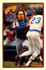 1989 Bowman #379 Gary Carter