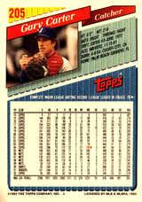 1993 Topps Inaugural Rockies #205 Gary Carter/10000