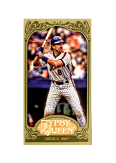 2012 Topps Gypsy Queen Mini Green #251 Gary Carter