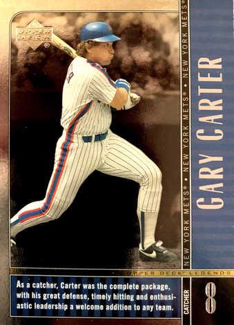 2000 Upper Deck Legends #34 Gary Carter