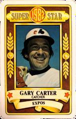 1982 Perma-Graphic All-Stars #10 Gary Carter