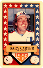 1983 Perma-Graphic All-Stars #10 Gary Carter
