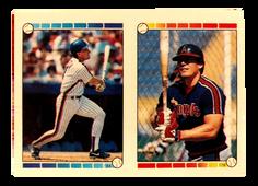 1989 Topps Stickers #94 Gary Carter