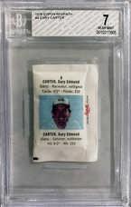 1976 Expos Redpath #4 Gary Carter (Sugar Packet)