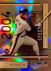 2004 Absolute Memorabilia Spectrum Silver #131 Gary Carter/100